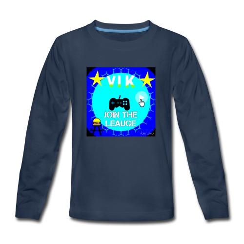 MInerVik Merch - Kids' Premium Long Sleeve T-Shirt