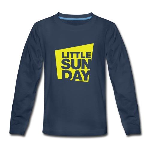 littleSUNDAY Official Logo - Kids' Premium Long Sleeve T-Shirt
