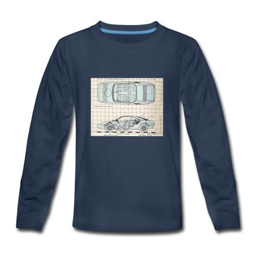 drawings - Kids' Premium Long Sleeve T-Shirt