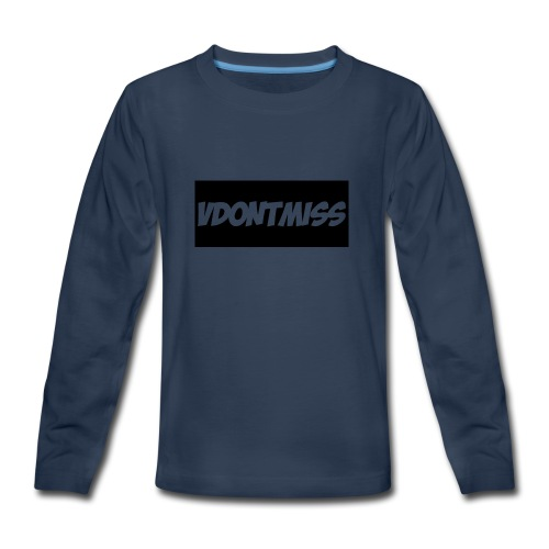 vDontMiss Nation - Kids' Premium Long Sleeve T-Shirt