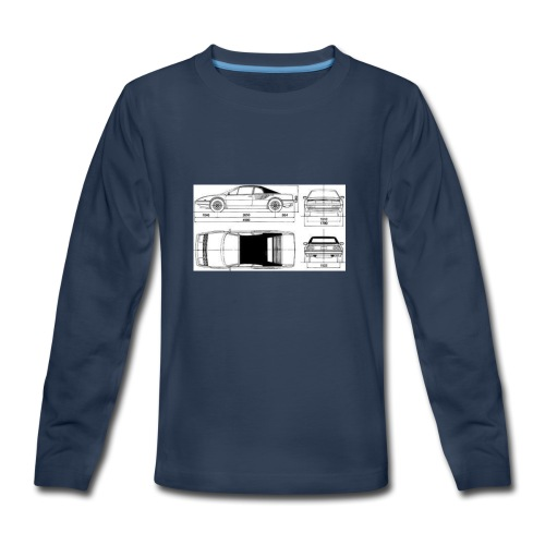 artists rendering - Kids' Premium Long Sleeve T-Shirt