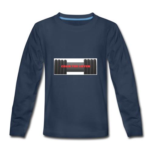 colin the lifter - Kids' Premium Long Sleeve T-Shirt