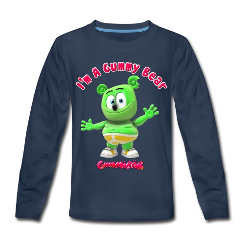 I'm A Gummy Bear - Kids' Premium Long Sleeve T-Shirt