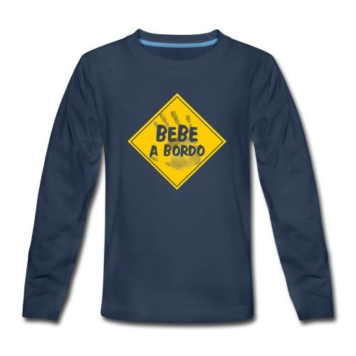 BABY ON BOARD - Kids' Premium Long Sleeve T-Shirt