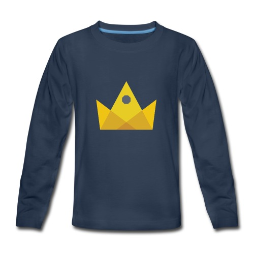 I am the KING - Kids' Premium Long Sleeve T-Shirt