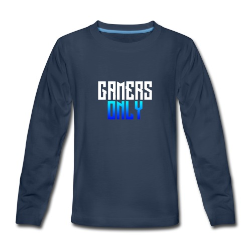 Gamers only - Kids' Premium Long Sleeve T-Shirt