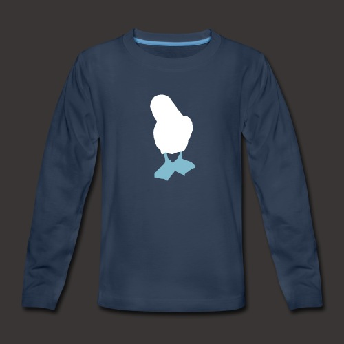 Boobies_Logo_png - Kids' Premium Long Sleeve T-Shirt