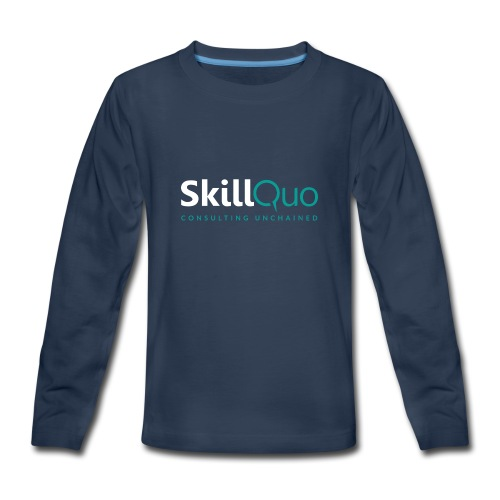 Consulting Unchained - EcoFriendly - Kids' Premium Long Sleeve T-Shirt