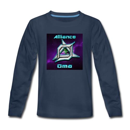 Oma Alliance - Kids' Premium Long Sleeve T-Shirt