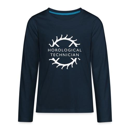 Horological Technician - White - Kids' Premium Long Sleeve T-Shirt