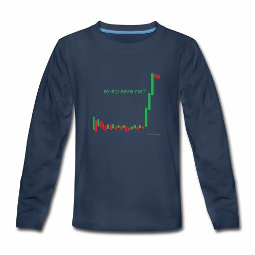 ex-squeeze me? - Kids' Premium Long Sleeve T-Shirt