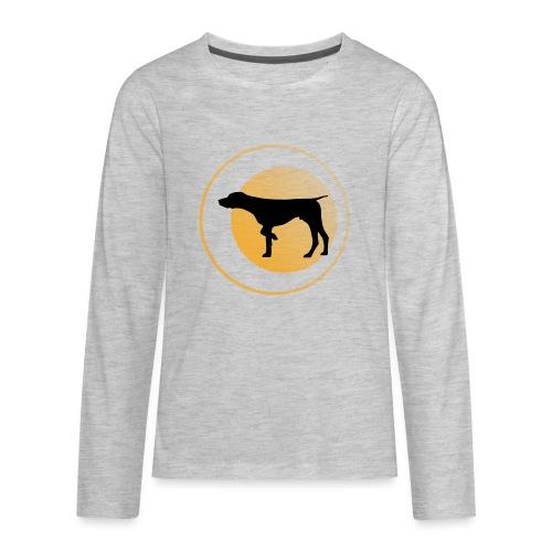 German Shorthaired Pointer - Kids' Premium Long Sleeve T-Shirt