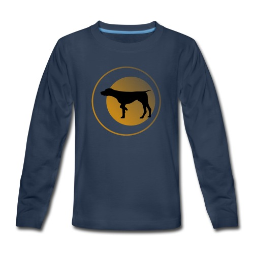 German Shorthaired Pointer - Kids' Premium Long Sleeve T-Shirt
