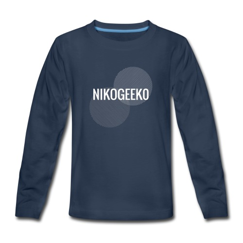 Nikogeek0 - Kids' Premium Long Sleeve T-Shirt