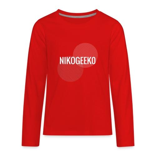 Nikogeek0 - Kids' Premium Long Sleeve T-Shirt