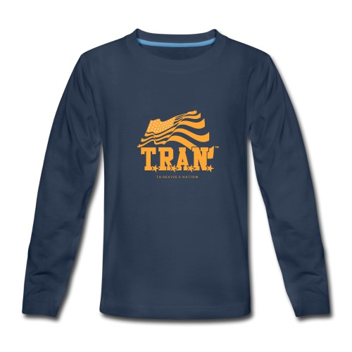 TRAN Gold Club - Kids' Premium Long Sleeve T-Shirt