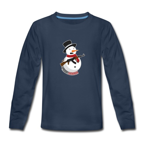 PRODBYSNOWMAN - Kids' Premium Long Sleeve T-Shirt