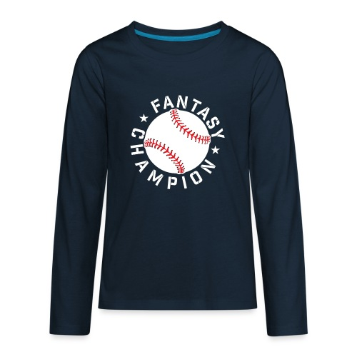 Fantasy Baseball Champion - Kids' Premium Long Sleeve T-Shirt