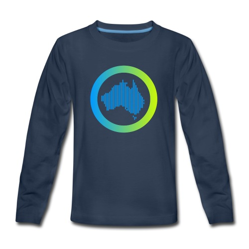 Gradient Symbol Only - Kids' Premium Long Sleeve T-Shirt