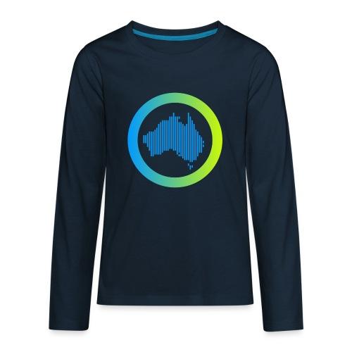 Gradient Symbol Only - Kids' Premium Long Sleeve T-Shirt