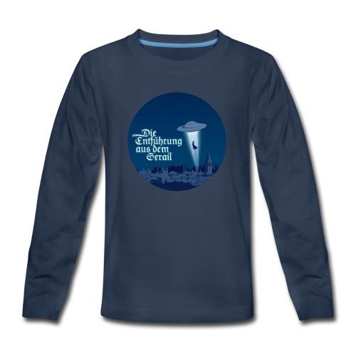 Die Entführung aus dem Serail: UFO (circle) - Kids' Premium Long Sleeve T-Shirt