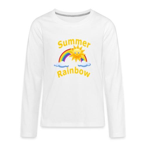 Summer Rainbow - Kids' Premium Long Sleeve T-Shirt