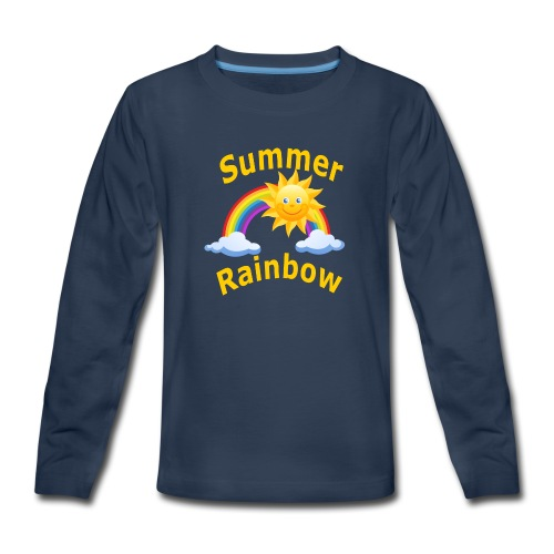 Summer Rainbow - Kids' Premium Long Sleeve T-Shirt