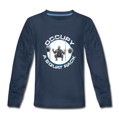 occupysquat - Kids' Premium Long Sleeve T-Shirt