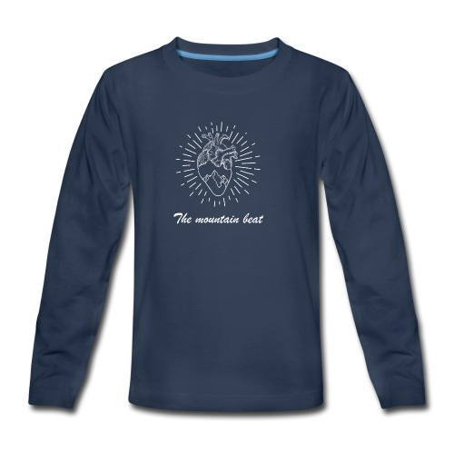 Adventure - The Mountain Beat T-shirts & Products - Kids' Premium Long Sleeve T-Shirt