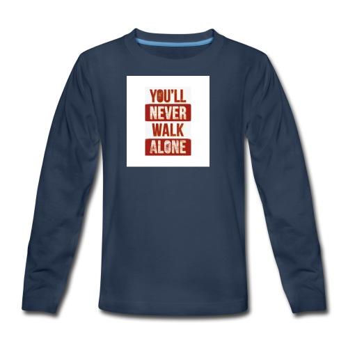 liverpool fc ynwa - Kids' Premium Long Sleeve T-Shirt