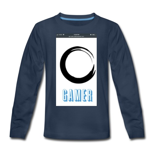 Caedens merch store - Kids' Premium Long Sleeve T-Shirt