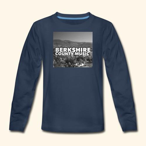 Berkshire County Music Black/White - Kids' Premium Long Sleeve T-Shirt