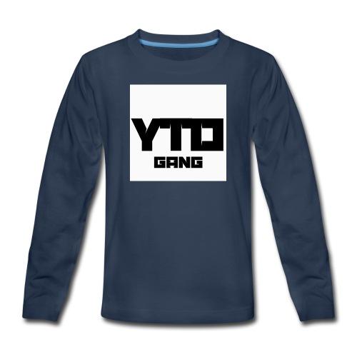 Gang logo - Kids' Premium Long Sleeve T-Shirt
