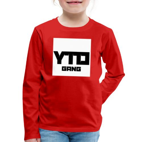 Gang logo - Kids' Premium Long Sleeve T-Shirt
