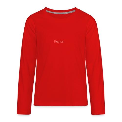 PEYTON Special - Kids' Premium Long Sleeve T-Shirt