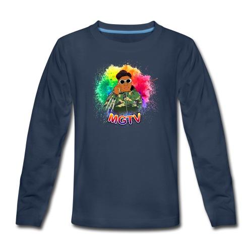 NEW MGTV Clout Shirts - Kids' Premium Long Sleeve T-Shirt