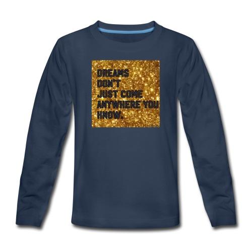 dreamy designs - Kids' Premium Long Sleeve T-Shirt