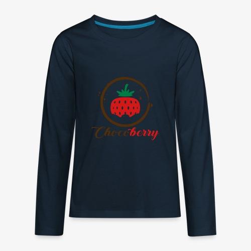 Chocoberry - Kids' Premium Long Sleeve T-Shirt