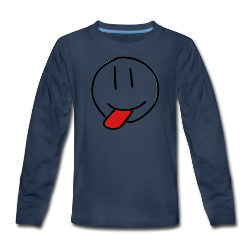 funny face - Kids' Premium Long Sleeve T-Shirt
