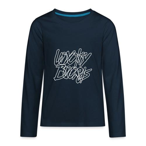 Loyalty Boards White Font - Kids' Premium Long Sleeve T-Shirt