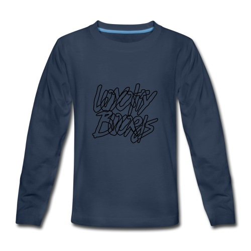 Loyalty Boards Black Font - Kids' Premium Long Sleeve T-Shirt
