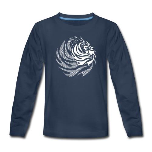 Fire Dragon - Kids' Premium Long Sleeve T-Shirt