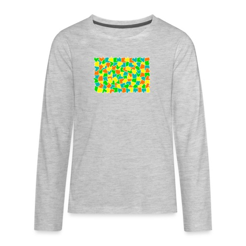 Dynamic movement - Kids' Premium Long Sleeve T-Shirt