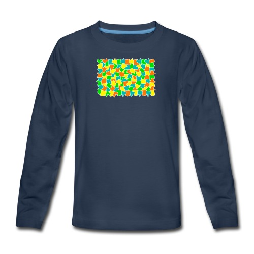 Dynamic movement - Kids' Premium Long Sleeve T-Shirt
