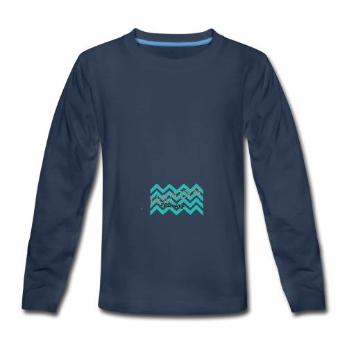 Fern Lyn Flaming official logo - Kids' Premium Long Sleeve T-Shirt