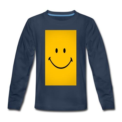 Smiley face - Kids' Premium Long Sleeve T-Shirt