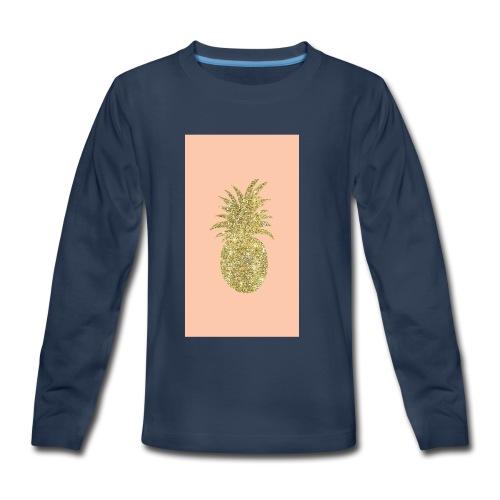 pinaple - Kids' Premium Long Sleeve T-Shirt