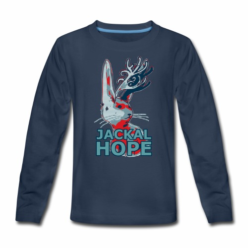 Jackalhope - Kids' Premium Long Sleeve T-Shirt
