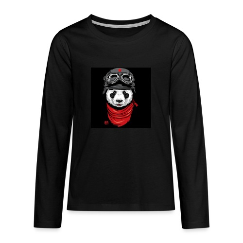 Panda - Kids' Premium Long Sleeve T-Shirt