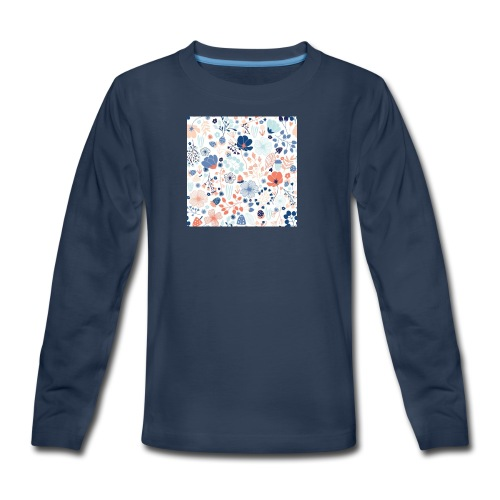 flowers - Kids' Premium Long Sleeve T-Shirt